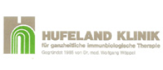 Hufeland Cancer patient clinic logo