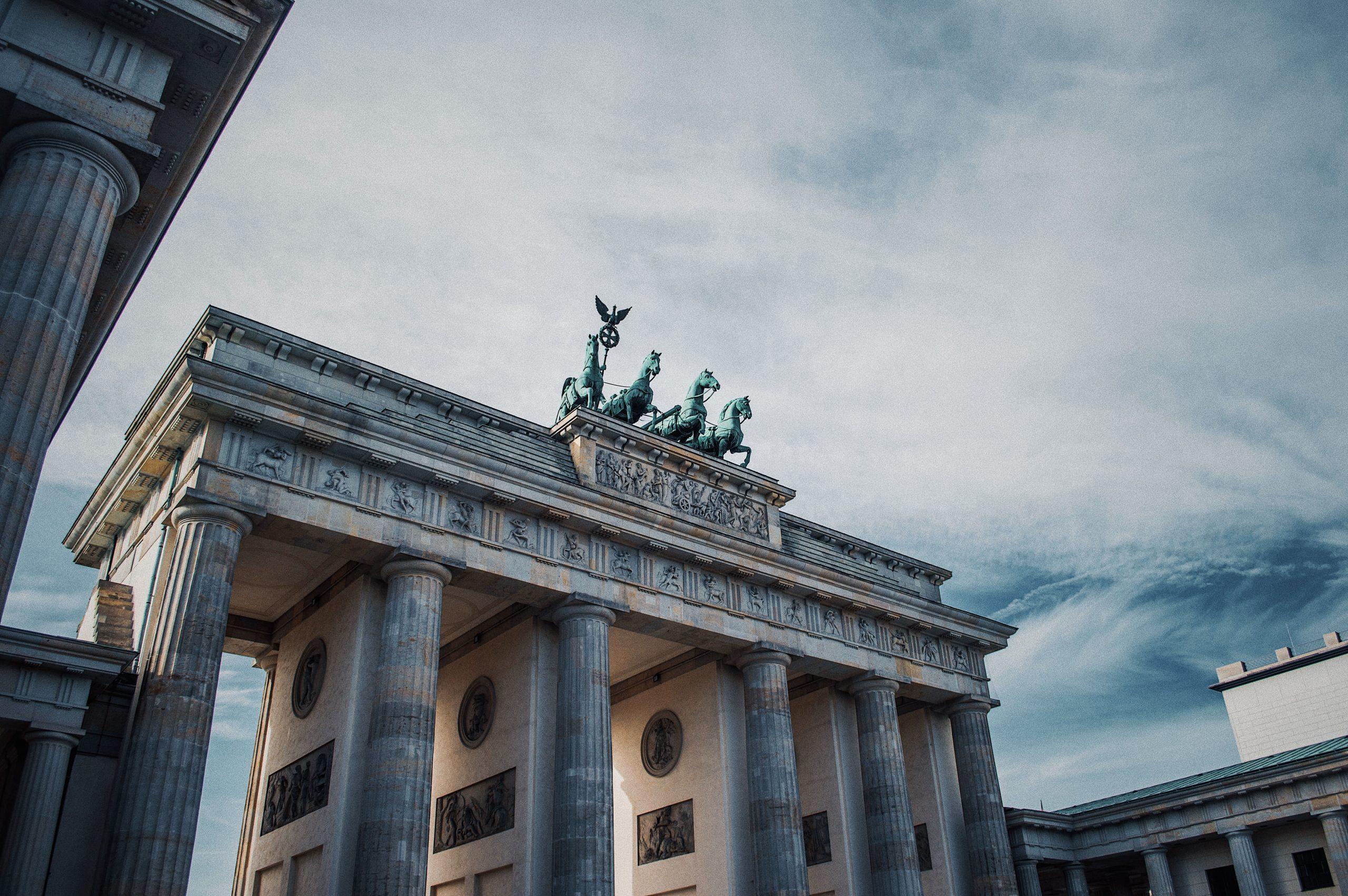 Pariser Platz in Berlin, Germany